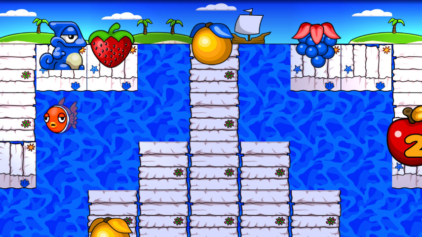 Super Yum Yum: Puzzle Adventures screen shot