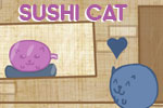 Help Sushi Cat fill up his belly with as much tasty sushi as possible!
