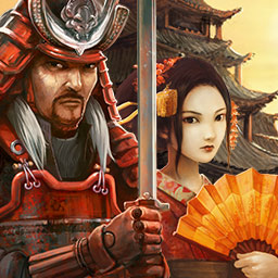 Tales of the Orient: The Rising Sun - Play 3 different modes in this beautiful Match 3 game and build a village in ancient Japan in Tales of the Orient: The Rising Sun! - logo