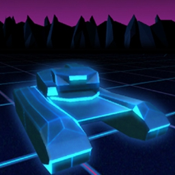 "Tank Universal - Jack into immense 3D tank battles in a ""Tron©-like"" virtual world! - logo"