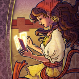 The Tarot's Misfortune - Help Rosalie save her town in The Tarot's Misfortune, a hidden object game! - logo