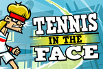 An ex-tennis star, Pete Pagassi, is on a mission to stop the evil energy drink corporation, Explodz.  And he'll do it with... Tennis in the Face!