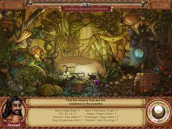 1001 Nights - The Adventures of Sindbad screen shot