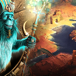 The Ancient Quest of Saqqarah - Ancient Quest of Saqqarah is an amazing match 3 puzzle in ancient Egypt! - logo