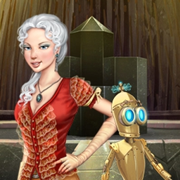 The Clockwork Man - The Hidden World - Gear up for a fantastic journey in The Clockwork Man - The Hidden World! - logo