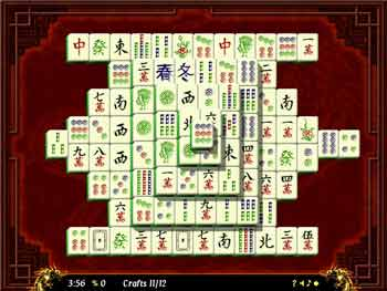 The Emperor's Mahjong screen shot