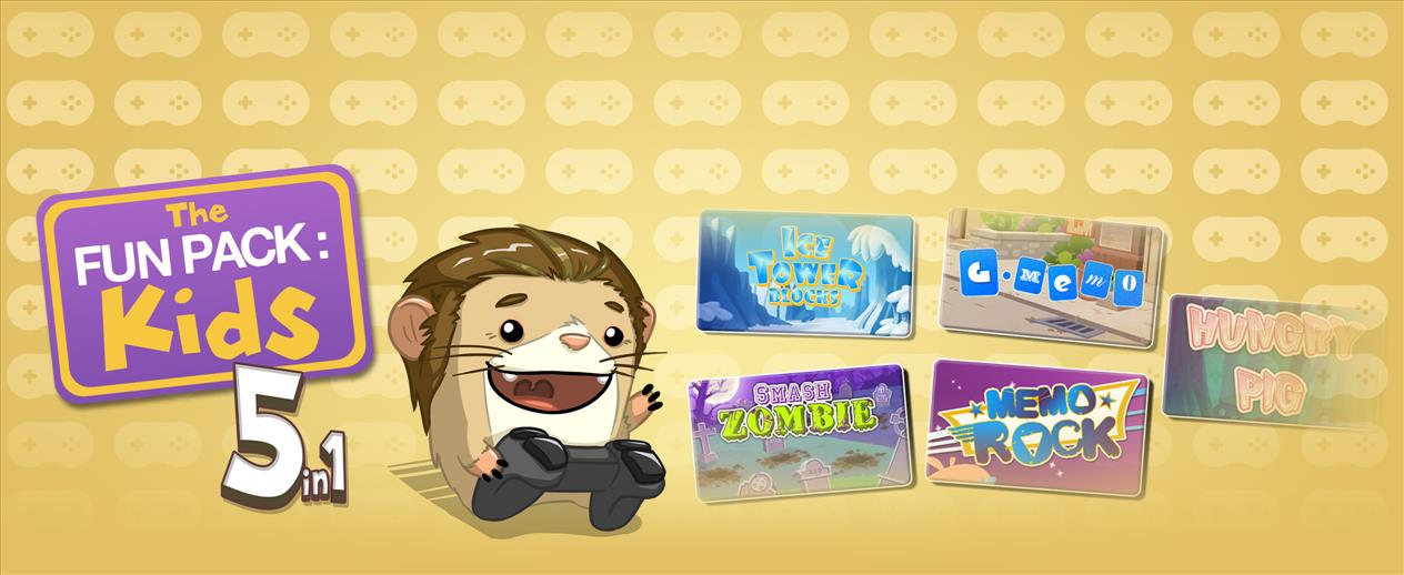 The Fun Pack: Kids 5 in 1 - This bundle is tons of fun!
