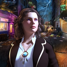 The Gift - Guide paranormal investigator Sarah Meiville through a classic noir adventure! Play The Gift today! - logo