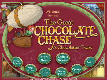The Great Chocolate Chase - A Chocolatier Twist screen shot