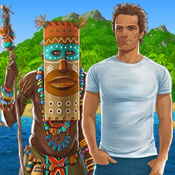 The Island: Castaway - Could you survive after a shipwreck? Find out in The Island: Castaway! - logo