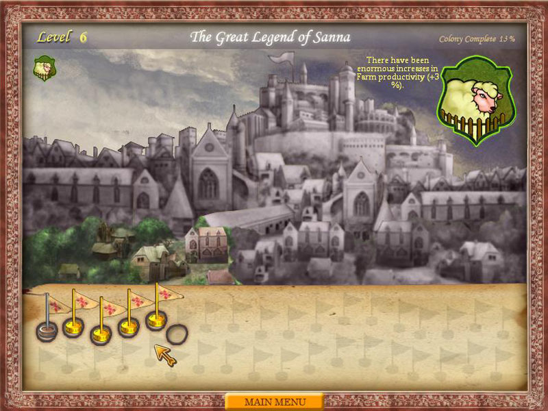 The Legend of Sanna: Rise of a Great Colony screen shot