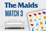You knew they kept your house sparkling... now see how fun they are!  Play the free Maids Match 3 Game today!