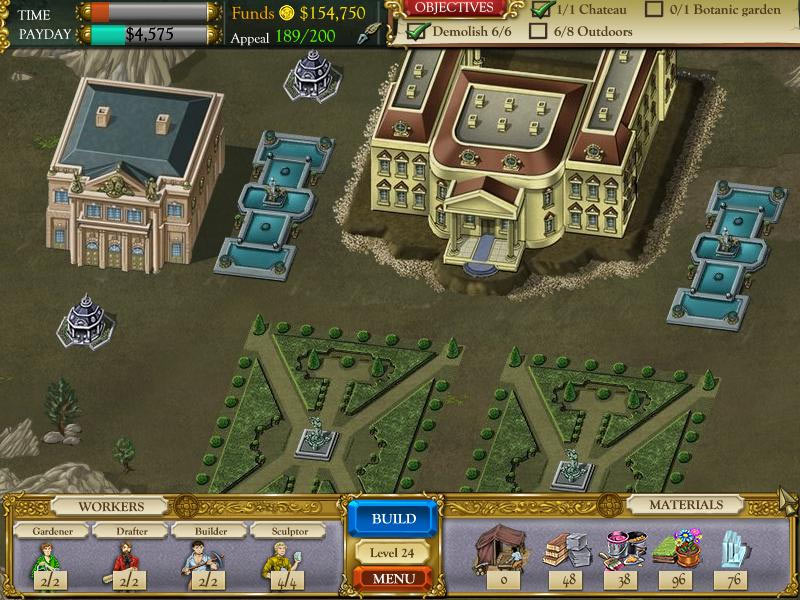 The Palace Builder screen shot