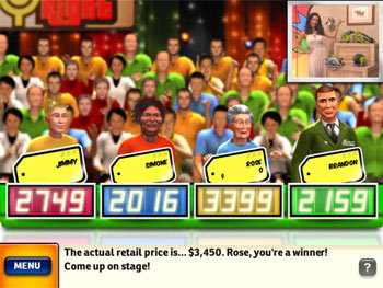 The Price is Right screen shot