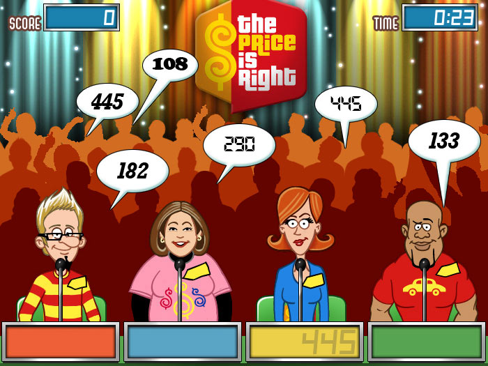 Cash Tournaments - The Price Is Right screen shot