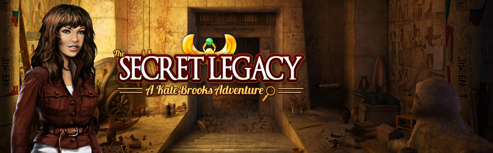 The Secret Legacy: A Kate Brooks Adventure