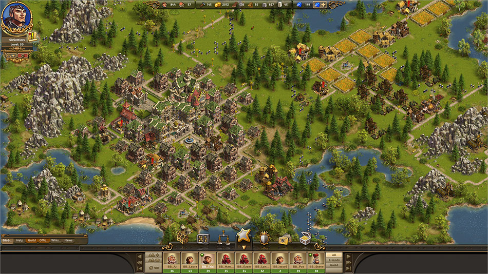 The Settlers Online: Castle Empire screen shot