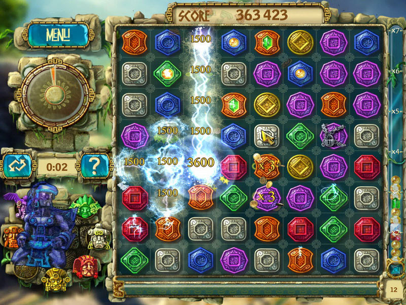 The Treasures of Montezuma 3 screen shot