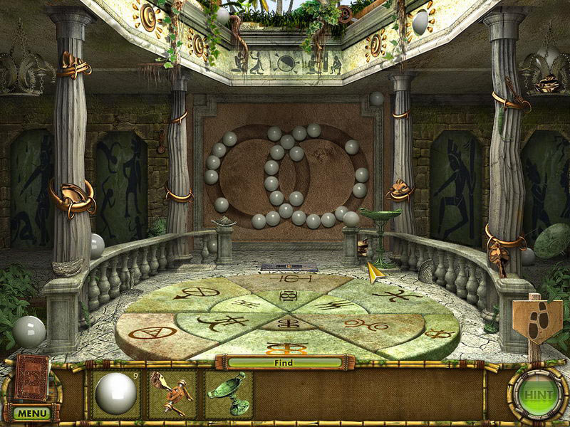 The Treasures of Mystery Island 2: The Gates of Fate screen shot