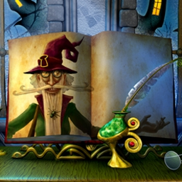 The Wizard's Pen - The Wizard's Pen is a spellbinding hidden object game! - logo