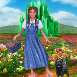 L. Frank Baum's The Wonderful Wizard of Oz - Based on the literary classic, join Dorothy and her friends in Oz! - logo