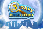 Escape tricky traps and solve an ancient riddle in 3 Days: Amulet Secret!