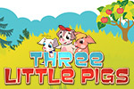 The Three Little Pigs is now interactive! Every page of the book contains fascinating tasks with educational mini-games. Play today!