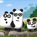 3 Pandas - logo