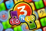 3Tones is a challenging puzzle game with a musical twist!