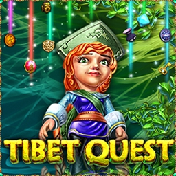Tibet Quest - Tibet Quest is a match 3 puzzler through the legendary city of Shangri La! - logo