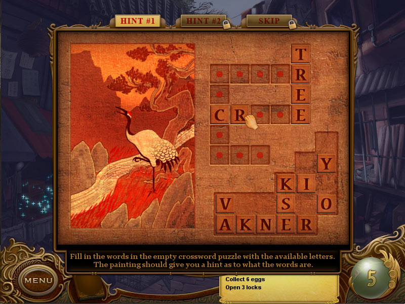 Tiger Eye - Curse of the Riddle Box screen shot