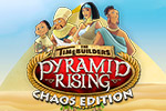 As an assistant to the Royal Architect, you must reconstruct Egypt in the time management game The Timebuilders: Pyramid Rising Chaos Edition.