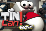 Help TINcan reach the exit using walls and special fields in TINcan Escape!