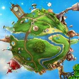 The Tiny Bang Story - The Tiny Bang Story is a point & click adventure set in the fictitious world of Tiny Planet. Solve plentiful puzzles and fix whimsical machines! - logo