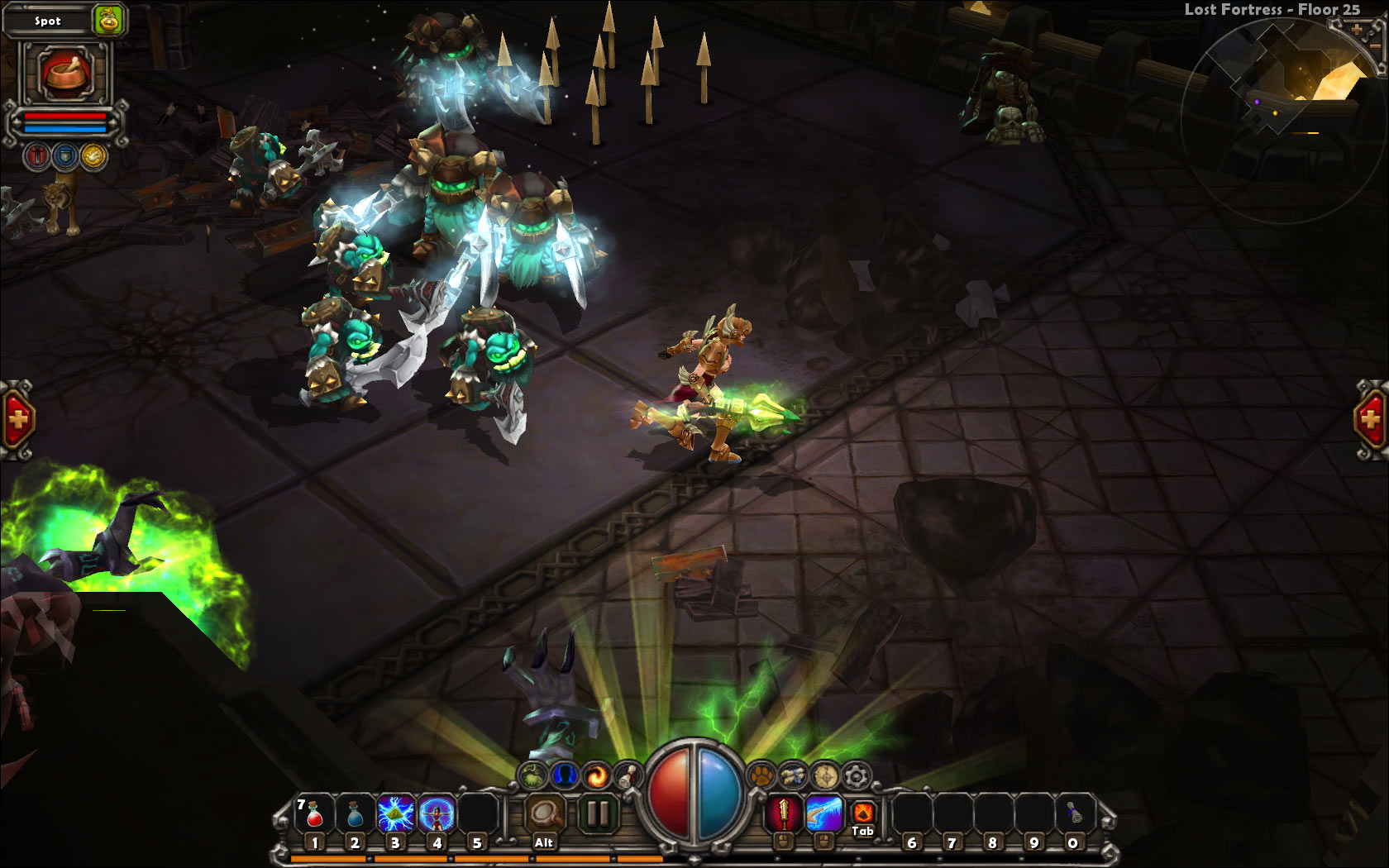 Torchlight screen shot