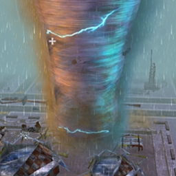 Tornado Jockey - Direct a storm's path and control the aftermath in Tornado Jockey! - logo