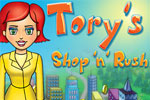 Work fast to bring in the big bucks in Tory's Shop 'n' Rush!