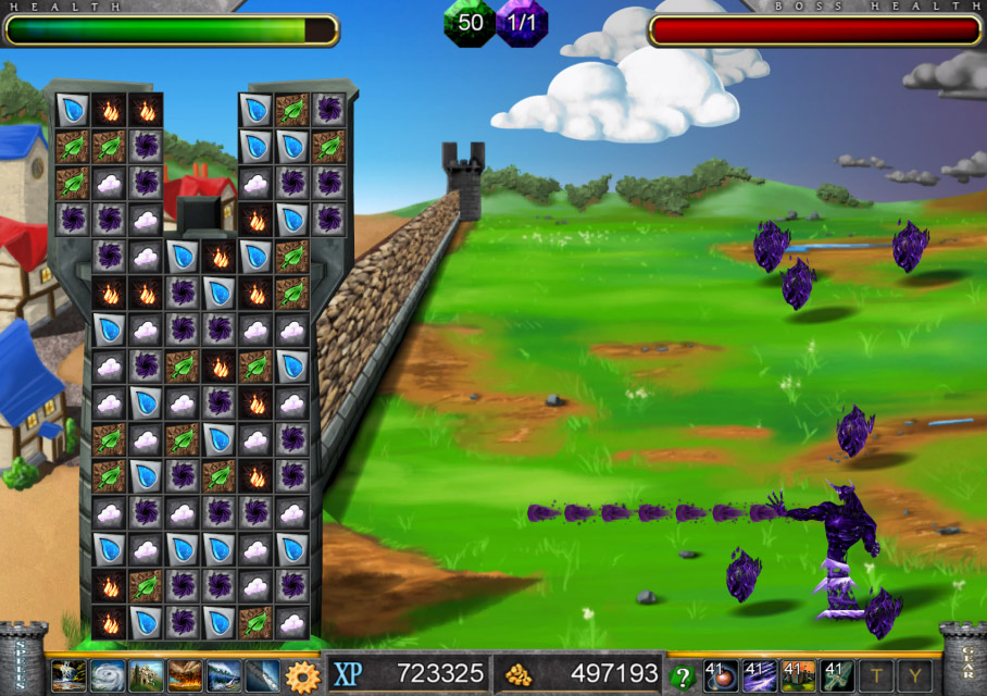Tower of Elements screen shot
