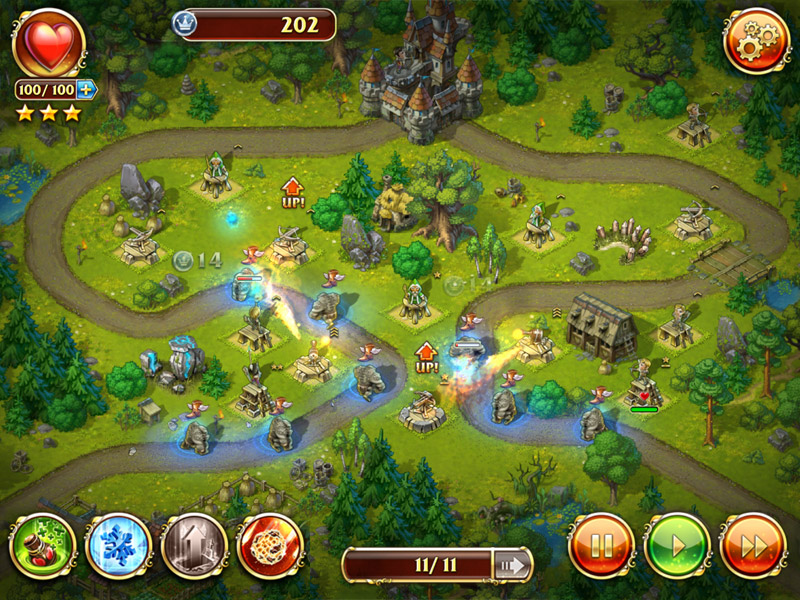 Toy Defense 3: Fantasy screen shot