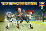 In Toy Story 3 Day Care Dash, help Woody find his friends at Sunnyside! Collect stars and explore the rooms.