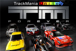 TrackMania lets you build incredible racetracks with crazy design elements!