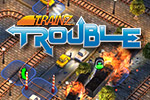 Plan the route, change the junctions, time the stops, and avoid trouble... it's not so simple in the puzzle game Trainz Trouble!