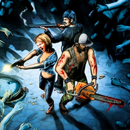 Trapped Dead - Trapped Dead is a tactical, real-time strategy game in which you and other characters must survive a zombie apocalypse. - logo