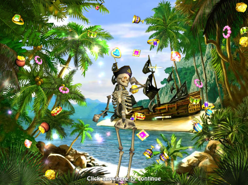 Treasure Island screen shot