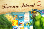 Raise anchor and set sail for new adventures in Treasure Island 2!  Play through 100 levels of match-3 fun to collect the gold you need!