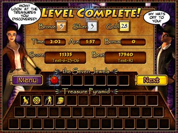 Treasure Pyramid screen shot