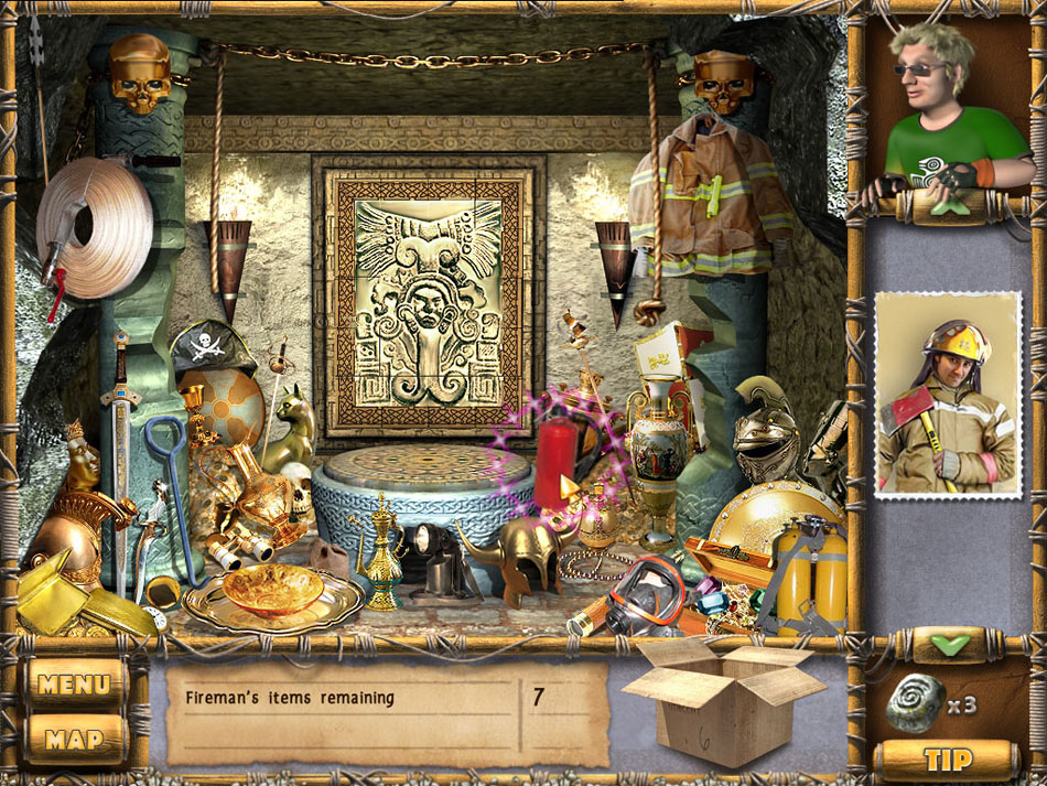 The Treasures of Mystery Island screen shot
