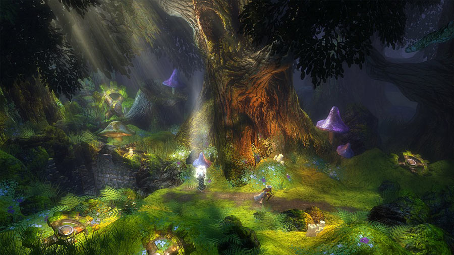 Trine screen shot