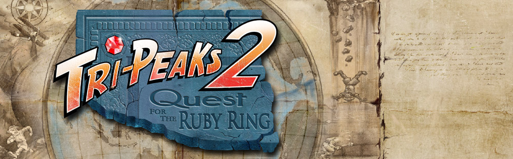 Tri-Peaks 2 Quest for the Ruby Ring