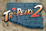 Tri-Peaks 2 Quest for the Ruby Ring is a solitaire game with a fun twist--a hero named Tex Carter that collects treasures and bonuses!